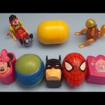 Spider-Man Surprise Egg Learn-A-Word! Spelling Words From the Kitchen! Lesson 8