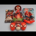 Spider-Man Surprise Egg Opening Party! With a HUGE GIANT JUMBO Surprise Egg! Part 2