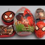 Spider-Man Surprise Egg Opening Party! With a HUGE GIANT JUMBO Surprise Egg!