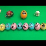 Star Wars Kinder Surprise Egg Learn-A-Word! Spelling Desert Words! Lesson 12