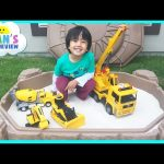 Step2 Sandbox Construction Vehicles Dump Truck Surprise Toys Challenge Disney Cars Toys McQueen