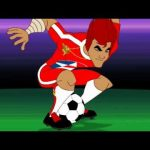 Supa Strikas – Twisting Tiger's Tornado move