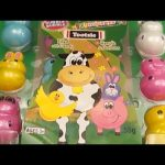 Surprise Egg  Candy Opening!  Fun Animal Containers!