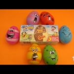 Surprise Egg Opening!  Monster Party featuring Monsters Universtiy!