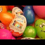 Surprise Eggs!! 101 Surprise Eggs!! Surprise Egg Opening!! Kinder Surprise!!