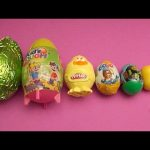 Surprise Eggs Learn Sizes from Smallest to Biggest! Opening Eggs with Play-Doh Candy and Fun! Part 2