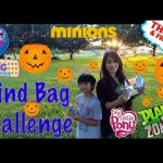 SURPRISE TOYS CHALLENGE in Halloween Jackolantern Egg Surprise Blind Bags MLP Ryan ToysReview