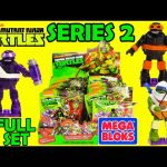 Teenage Mutant Ninja Turtles Mega Bloks Blind Bags Series 2