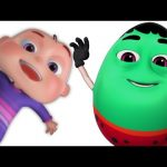 Ten Little Humpties | Five Little Babies | Nursery Rhymes Collection | 3D Music Video For Children