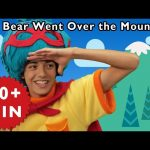 The Bear Went Over the Mountain and More | Nursery Rhymes from Mother Goose Club!