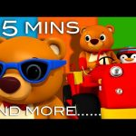 The Bear Went Over The Mountain | Plus Lots More Nursery Rhymes | From LittleBabyBum!