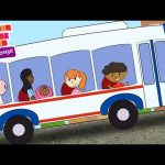 The Wheels on the Bus Animated – Mother Goose Club Playhouse Kids Song