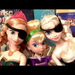 Tinker Bell with Pirate Elsa & Pirate Anna Play Doh Disney Frozen Dolls + Fairy Tinkerbell DVD