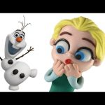 TROUBLE with Elsa's Best Friend Olaf | Frozen Animation Movie Clips | Playdoh Stop Motion