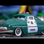 Wet Sheriff color changing cars from Disney colour changers shifters Pixar