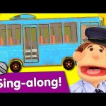 Wheels On The Bus Sing-along | Nursery Rhyme | #readalong with Super Simple Songs