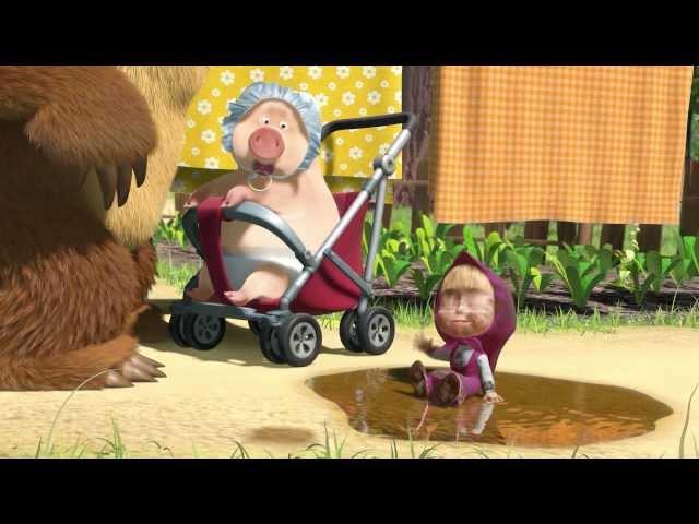 Скачать песню из мультики маша и медведь