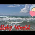 ❤ 8 HOURS ❤ Piano lullaby for babies to go to sleep with relaxing sound of ocean waves
