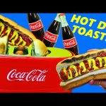 Coca Cola Themed Hot Dog Maker & Coke Toaster + Surprise Egg with Gummy Candy by DisneyCarToys