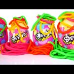 Shopkins Easter Eggs * Play Doh Surprise Egg Shopkin Toys * Huevos Sorpresa