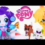 My Little Pony Applejack Slumber Party Games * MLP Equestria Girl Doll Toys 2016 DCTC