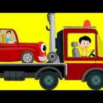 Tow Truck Song   Transport Song   Car Nursery Rhymes For Kids