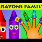 Crayons Finger Family | Finger Family Collection | Nursery Rhymes Collection