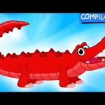 My Pet Crocodile – (Learn About Real & Pretend) + 1 hour My Magic Pet Morphle compilation for kids!