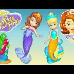 SOFIA THE FIRST Underwater Friends Poem Princess Sofia Disney Jr  Video Toy Review