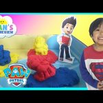 Kinetic Sand Paw Patrol Adventure Bay Beach Playset Toys for Kids Ryan ToysReview