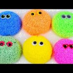 Play Foam balls / Fancy Foam balls with Surprise Eggs Toys Shopkins Lalaloopsy