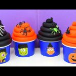 Play Doh Halloween  Surprise Toys Peppa Pig Inside Out Sheriff Callie's Wild West the Simpsons