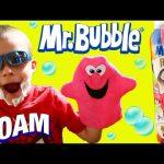 Mr Bubble Surprise Color Bath Foam Soap & Shaving Kit For Kids Mystery Foam by DisneyCarToys