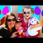 HUGE Surprise Eggs Hunt Giant Toy Eggs & Scavenger Hunt on Little TIkes Playground DisneyCarToys