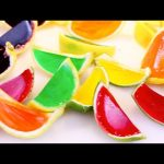 Huge GUMMY JELLO CANDY Lemons & Limes Kids Fruit Dessert + DIY Gummy Soda Crush Grape DisneyCarToys