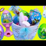 Easter Basket Toys Gumball Machine, Pez Candy Bunny, Surprise Slime Egg, Frozen & TMNT Toys
