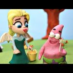 I Believe I Can Fly * Elsa's World Can She Save Patrick * Disney Play Doh Movie Clips STOP MOTION