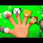 Finger Family   Animal Sound Song   3D Rhymes From Kids TV
