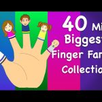 Finger Family Collection | Non-Stop 40 Minutes | Biggest Collection of Finger Family For Children