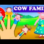 Cow Finger Family – Finger Family Rhymes For Children