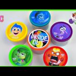 Inside Out Cans Play Doh Surprise Eggs dough  Disney Toys Minions  F, Shopkins, lalaolopsy,