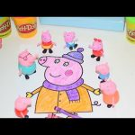 Porquinha Peppa Pig Coloring Pages Peppa Pig Colouring Pictures Full episode