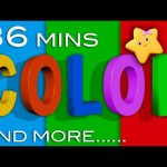 Color Songs | And More Children's Learning Songs | from LittleBabyBum!