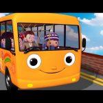 Wheels On The Bus | Part 5 | Nursery Rhymes | HD Version from LittleBabyBum!