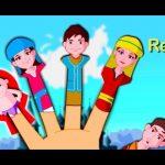 Палец семьи рифмы России   Russian Finger Family Nursery Rhyme