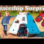 SPACESHIP SURPRISE Worlds Largest Spaceship Paw Patrol + Blaze + Star Wars Video Surprise