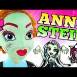 Frozen Princess Anna as Monster High Frankiestein * Face Painting