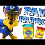 PAW PATROL Play doh Chase Stop Motion Rescue Pups video — Paw-Doh Animation