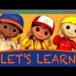 "Let's Learn ""Head Shoulders Knees & Toes""! With LittleBabyBum!"