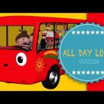 Wheels On The Bus | Part 2 | All Day Long Version | Nursery Rhymes | From LittleBabyBum!